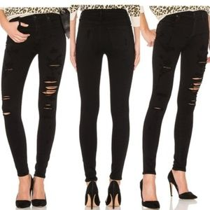 Agolde Women Jeans Moonstruck High Rise Skinny 26